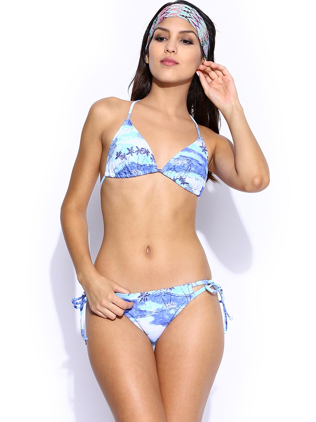 Roxy Blue Printed Swimwear 888701049210