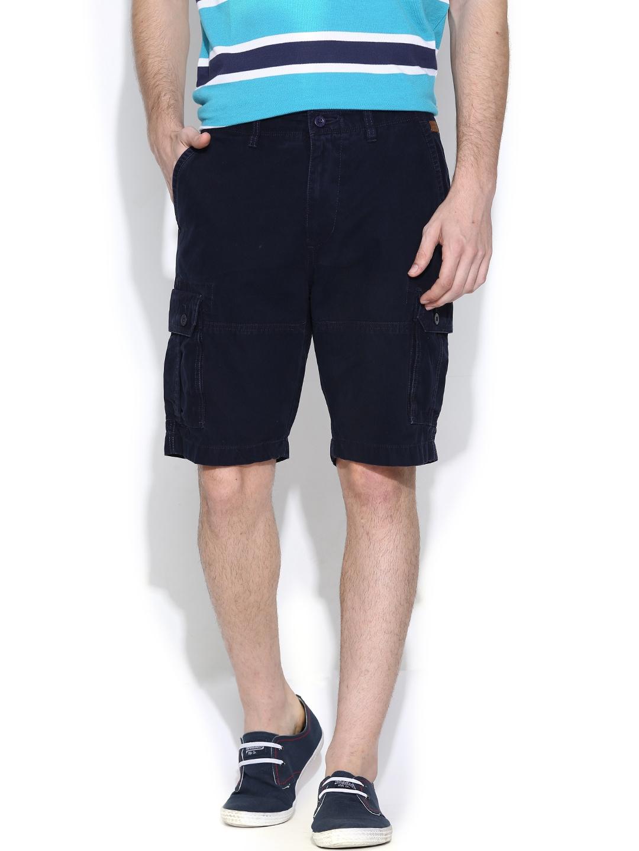 IZOD Navy Cargo Shorts