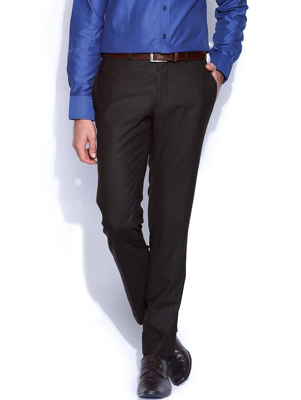 Premium by Jack & Jones Black Formal Trousers