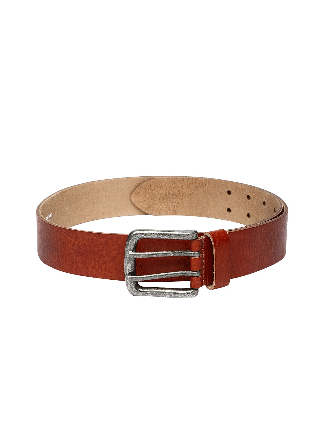 Ruosh Men Red Leather Belt