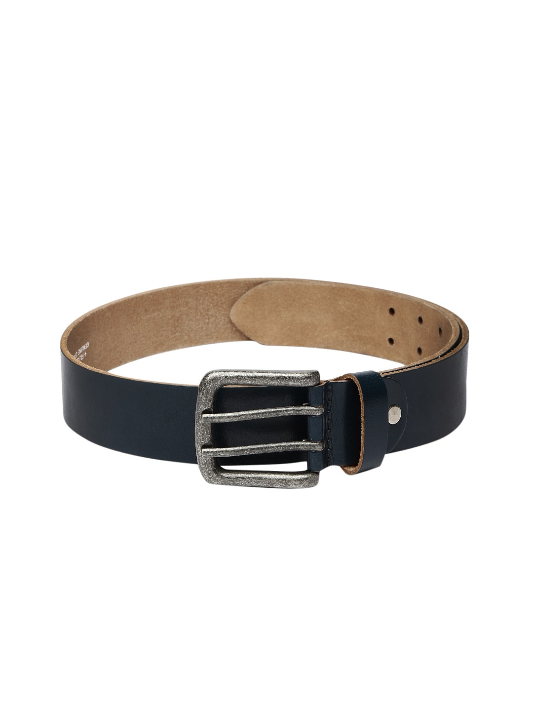 Ruosh Men Blue Leather Belt