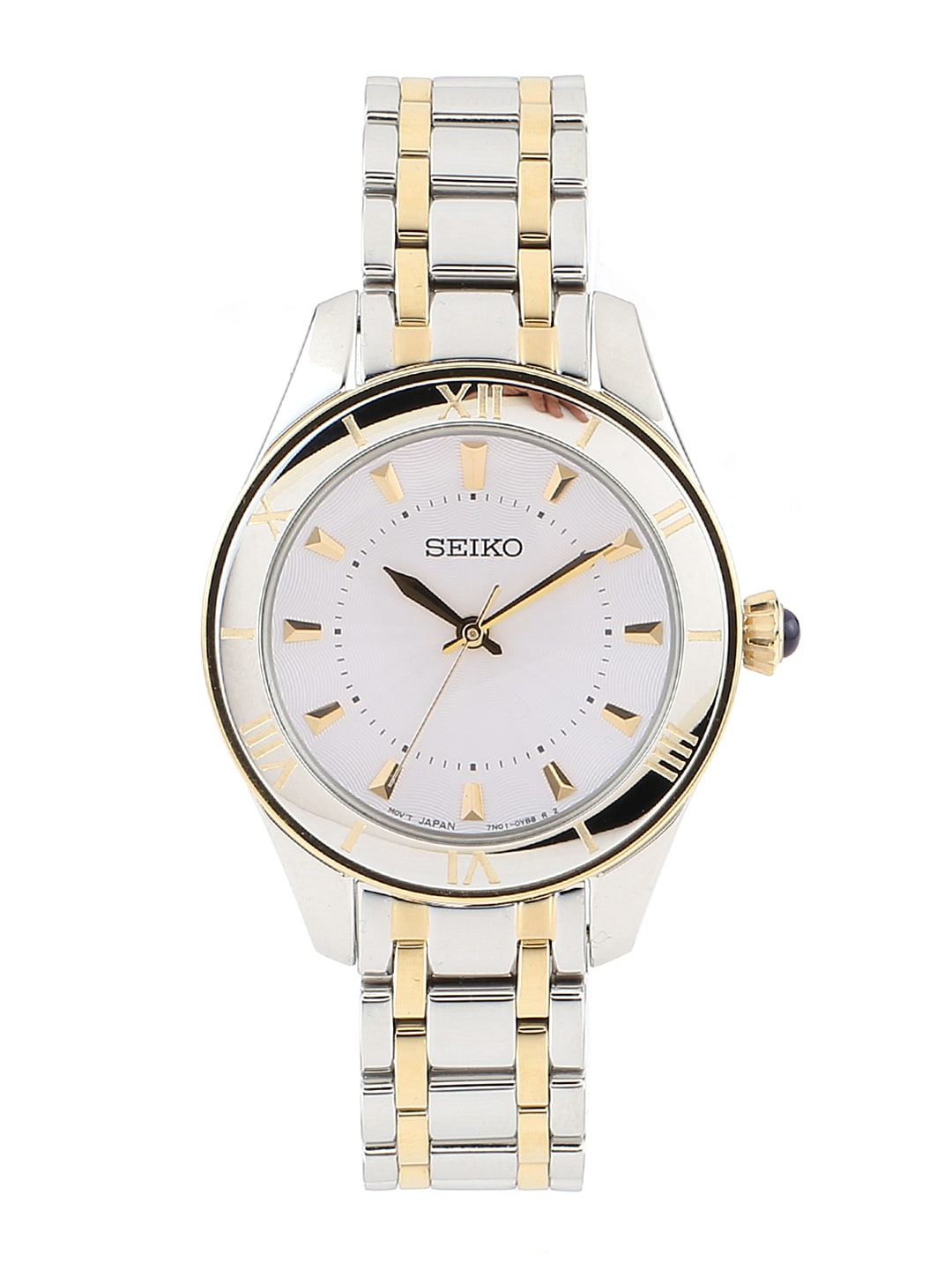 SEIKO Women Silver-Toned Dial Watch SRZ432P1