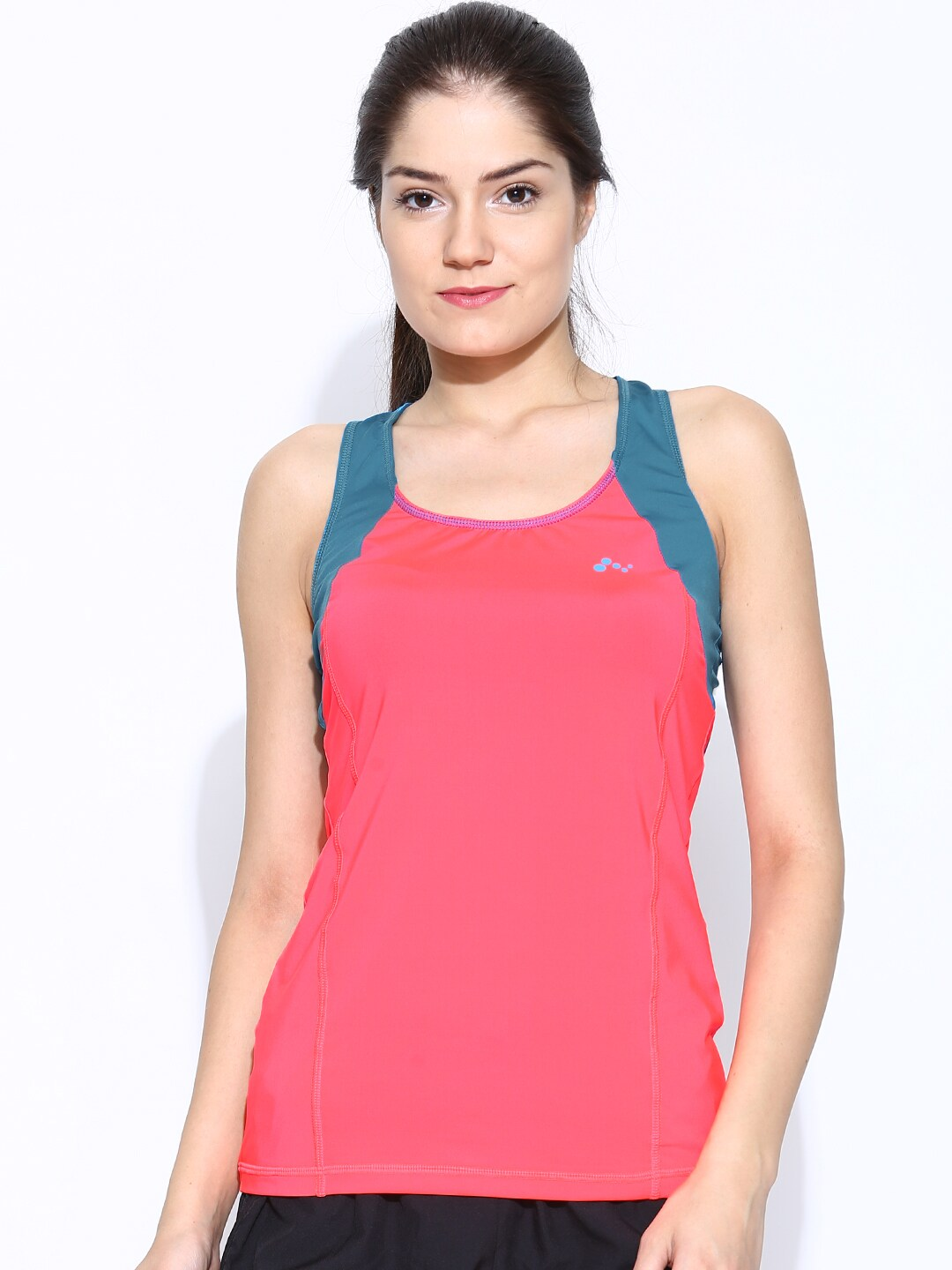 ONLY Neon Pink & Teal Blue Training Tank Top