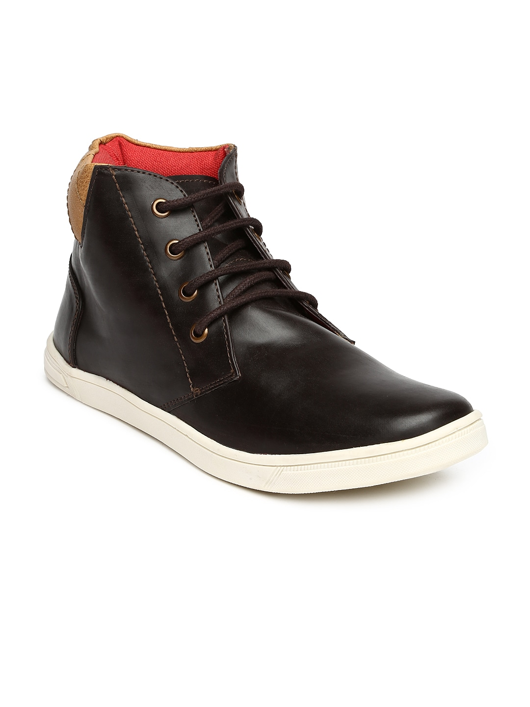 Knotty Derby Men Dark Brown Casual Shoes