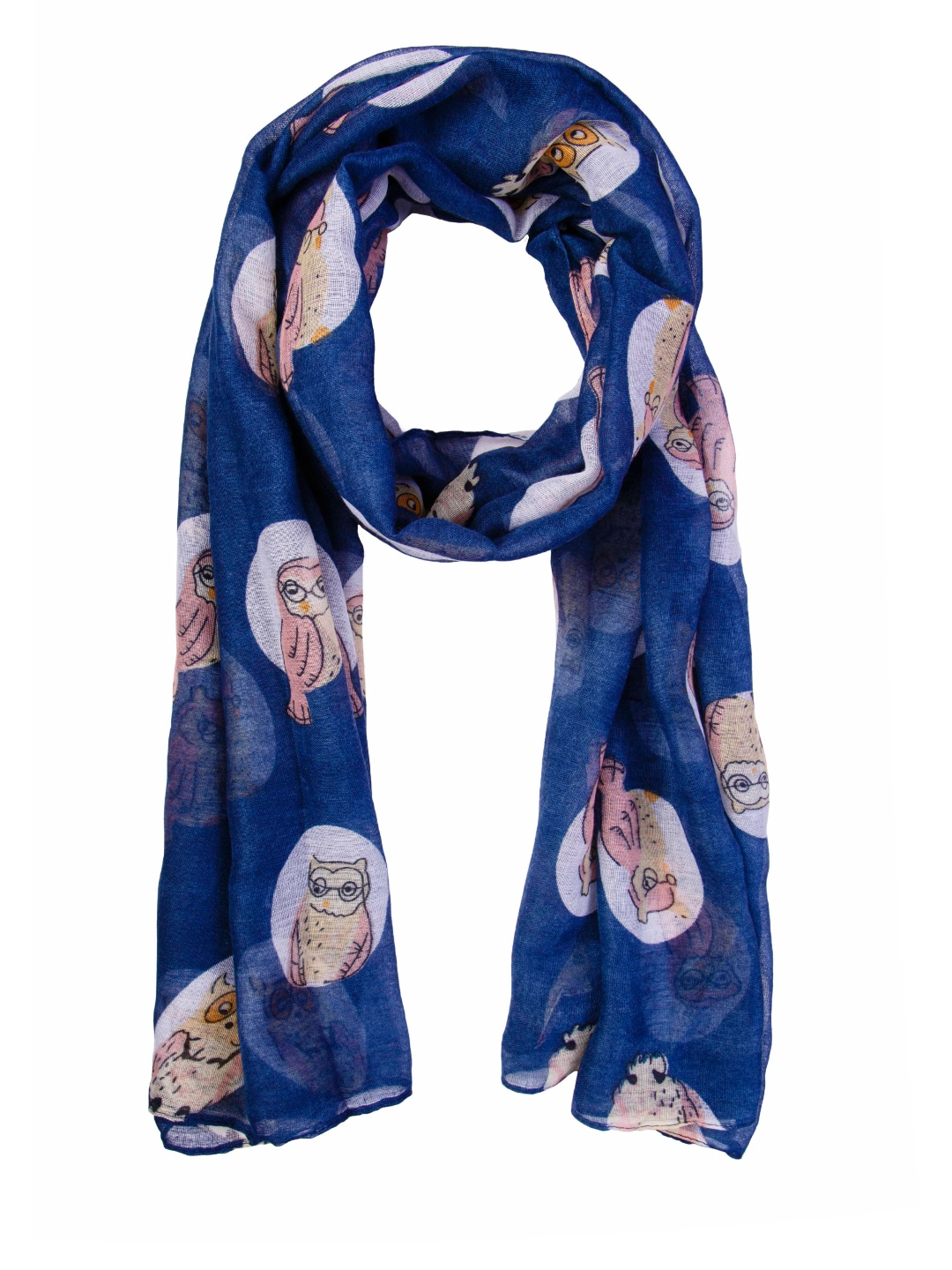 NOISE Blue Printed Stole