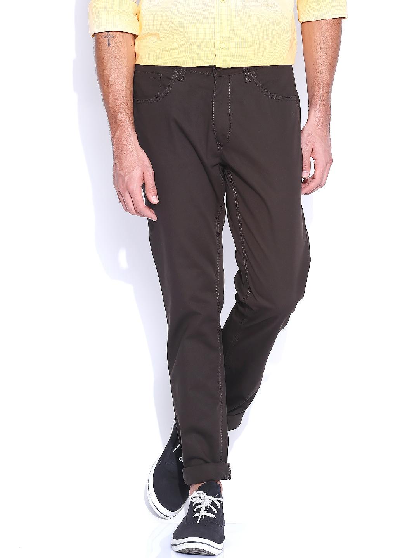 IZOD Dark Brown Trousers