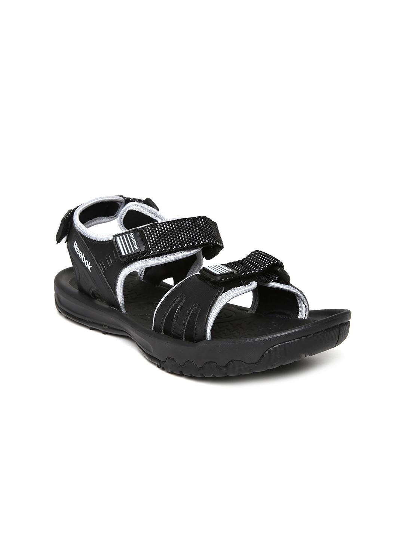 Reebok Women Black Adventure Serpant Sports Sandals