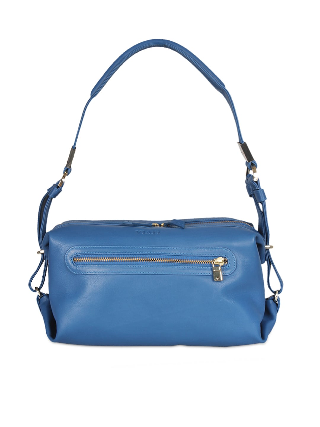 VIARI Blue CANNES Leather Handbag
