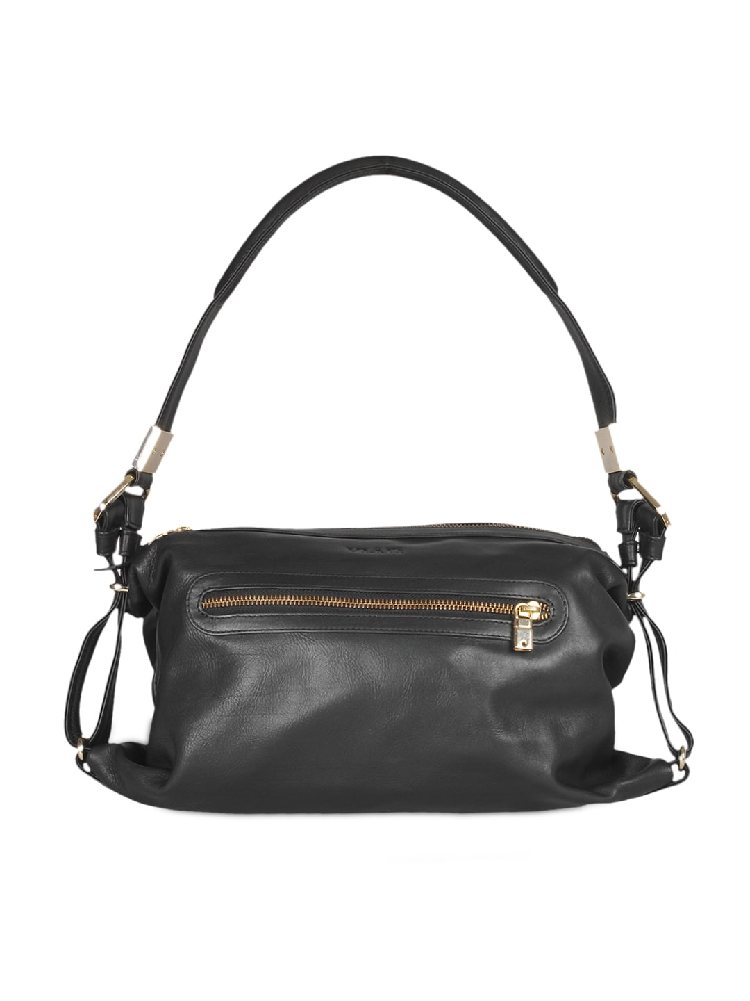 VIARI Black CANNES Leather Handbag