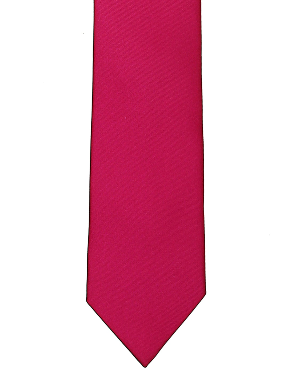 Tossido Magenta Slim Tie