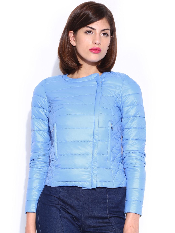 GAS Blue Padded Jacket