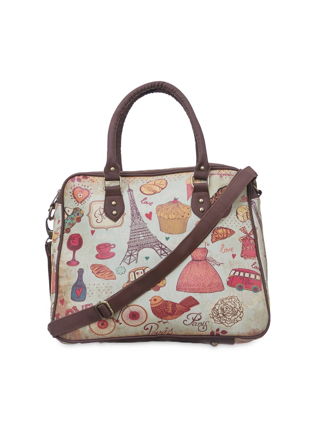 fa2d8e83fea7 20%off BandBox Women Multicoloured Printed Handbag