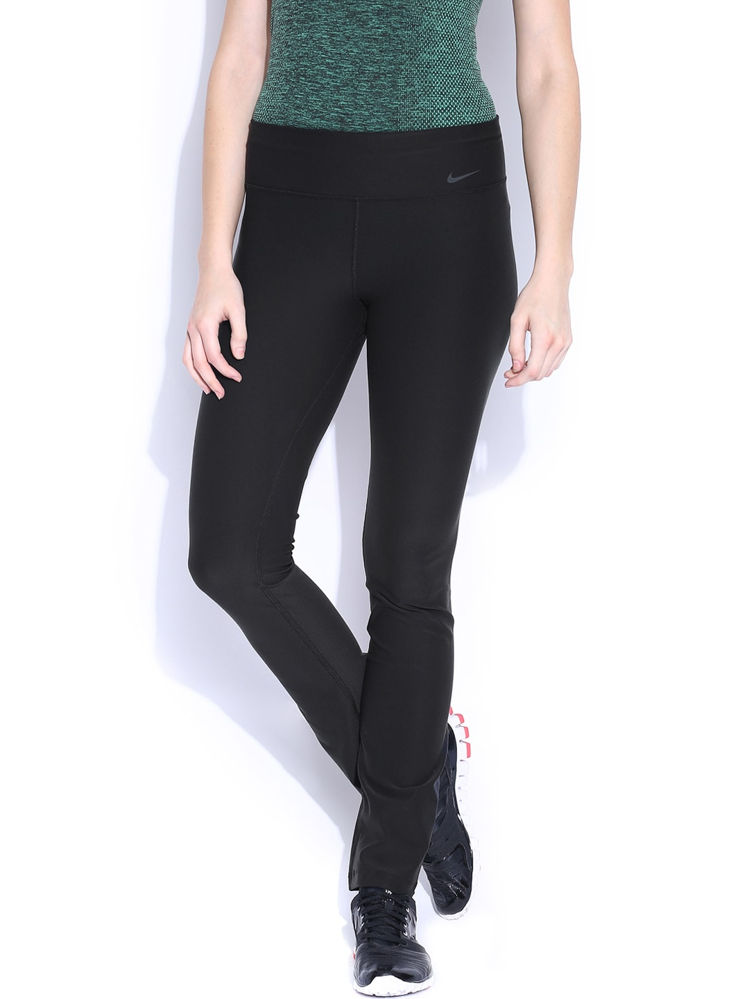 Nike Black AS Legend Poly Skinny Training Tights