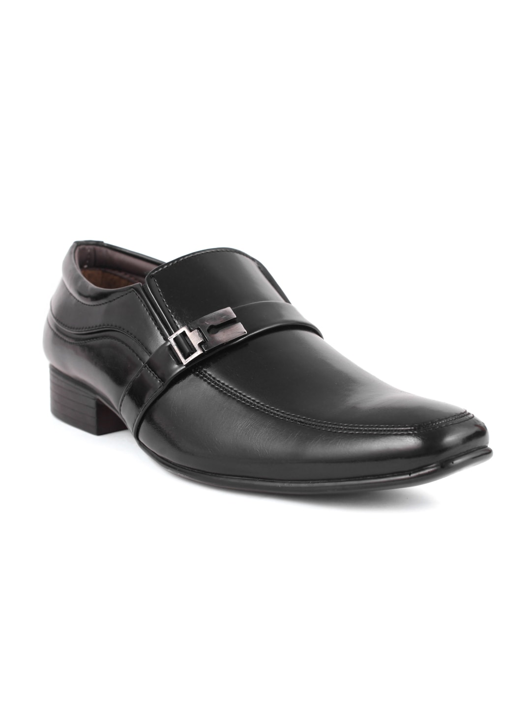 Guava Men Black Monk Semiformal Shoes