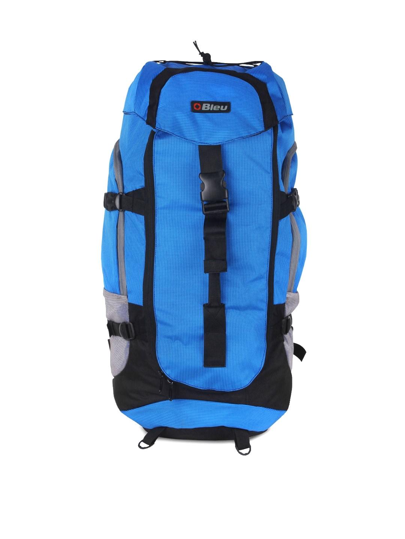 Bleu Unisex Blue Rucksack