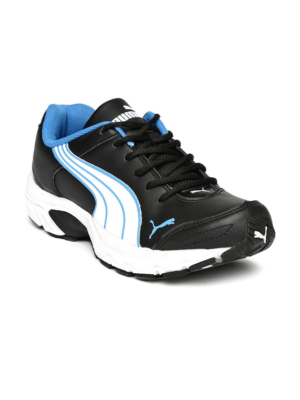PUMA Men Black Axis IV XT Running Shoes