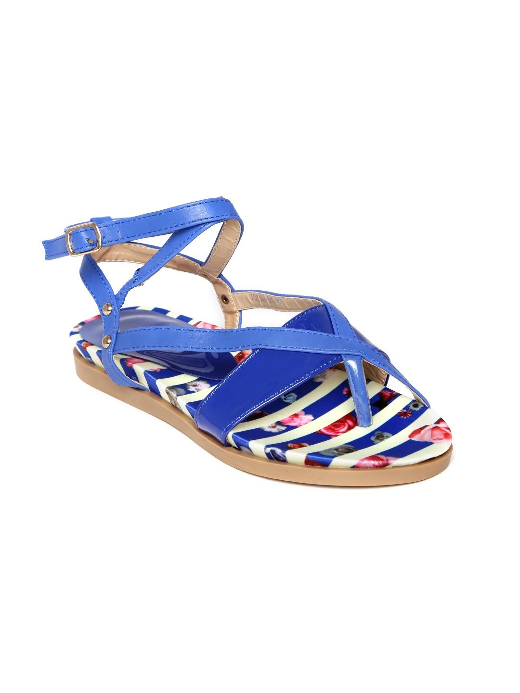DressBerry Women Blue Sandals