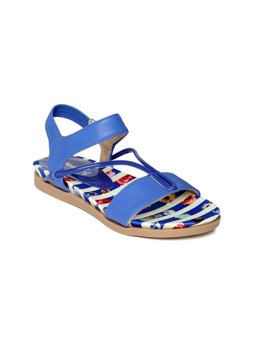 DressBerry Women Blue Sandals