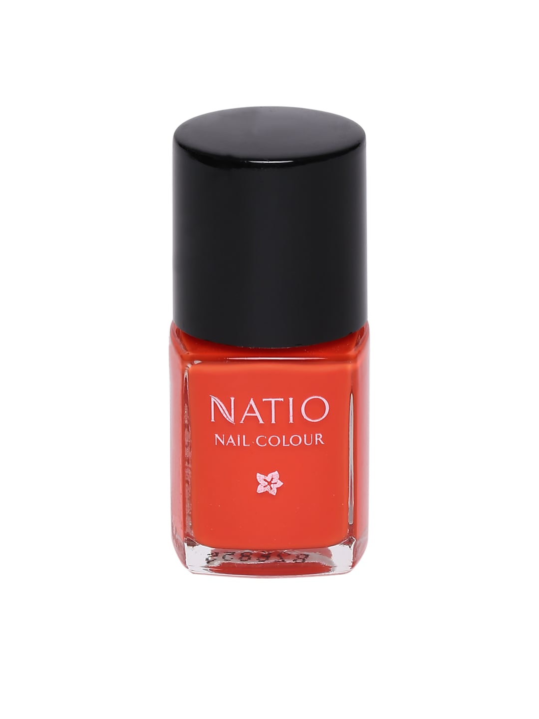 Natio Orange Tangerine Nail Colour