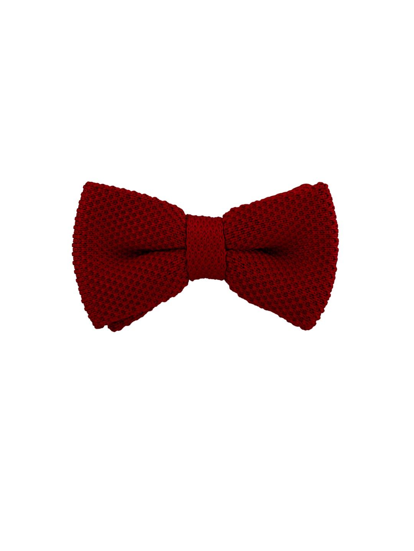 The Tie Hub Maroon Bow Tie