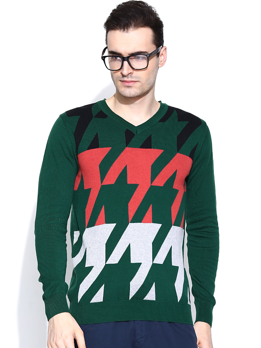 Fort Collins Green Sweater