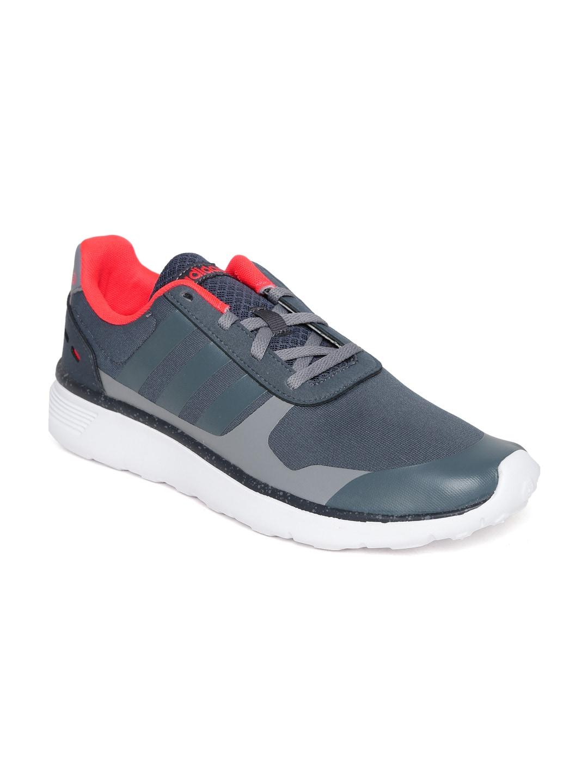 Adidas NEO Men Grey Lite Runner Running Shoes