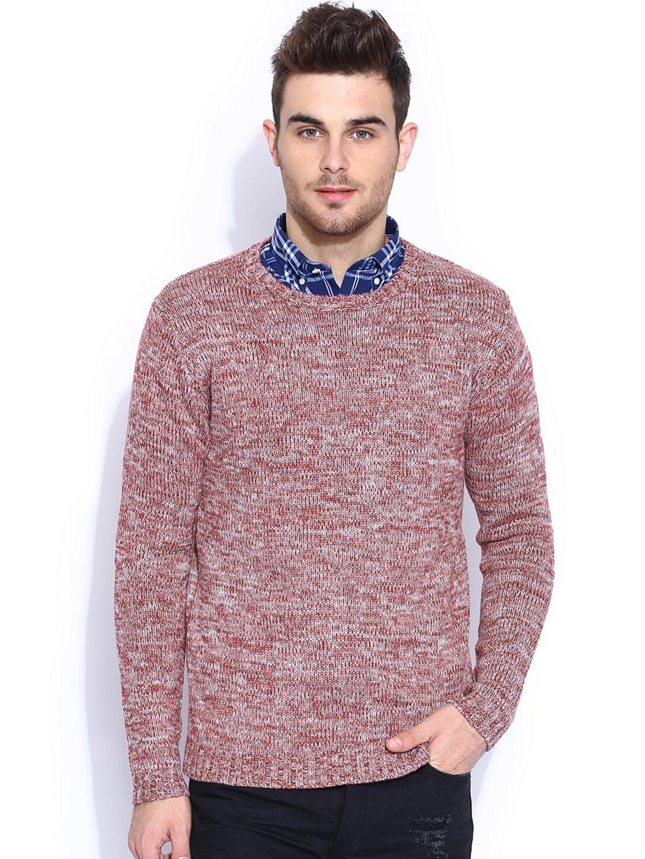 GANT Maroon Woollen Sweater