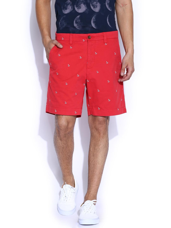 GANT Red Printed Shorts