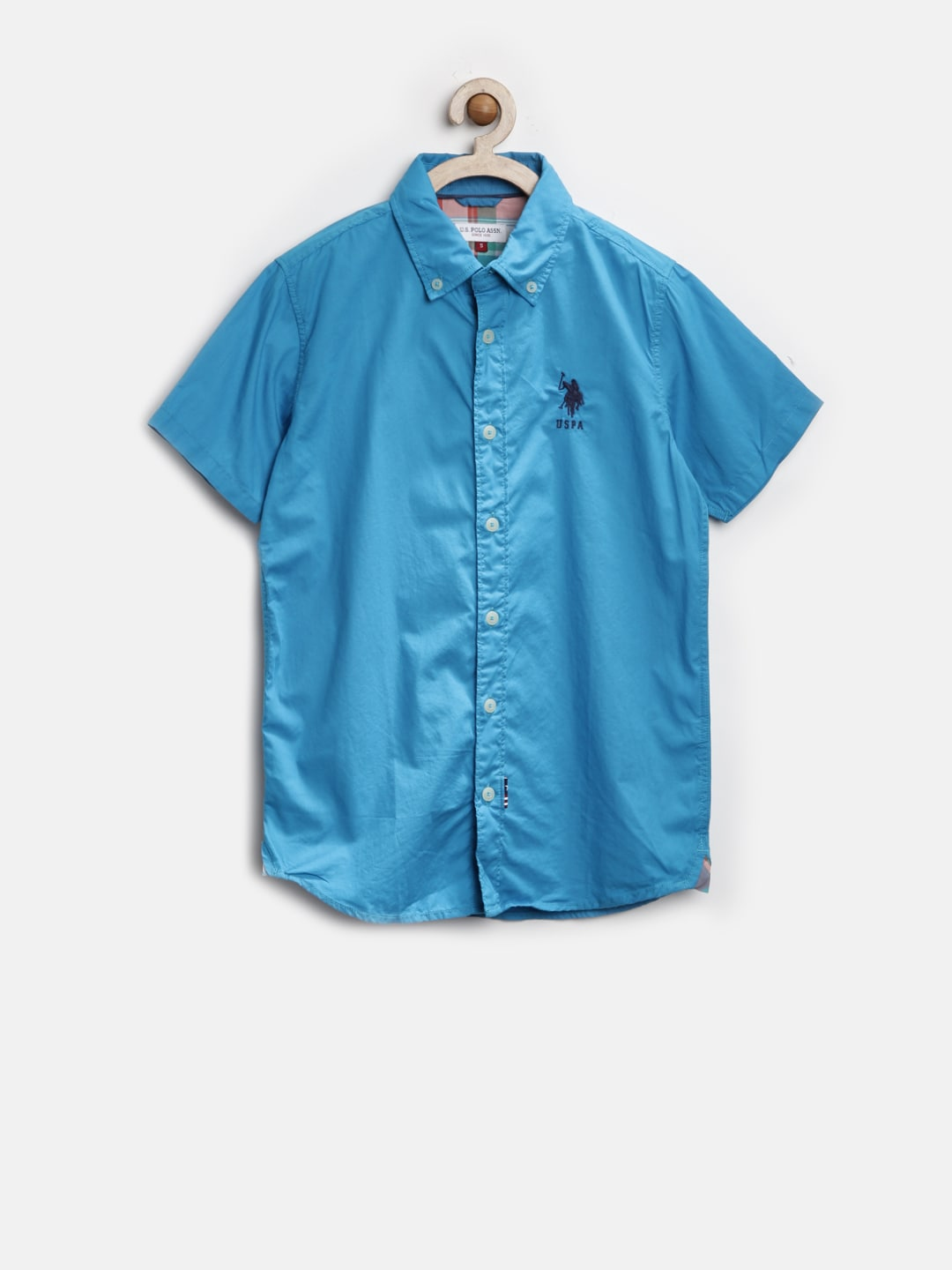 U.S. Polo Assn. Boys Blue Shirt
