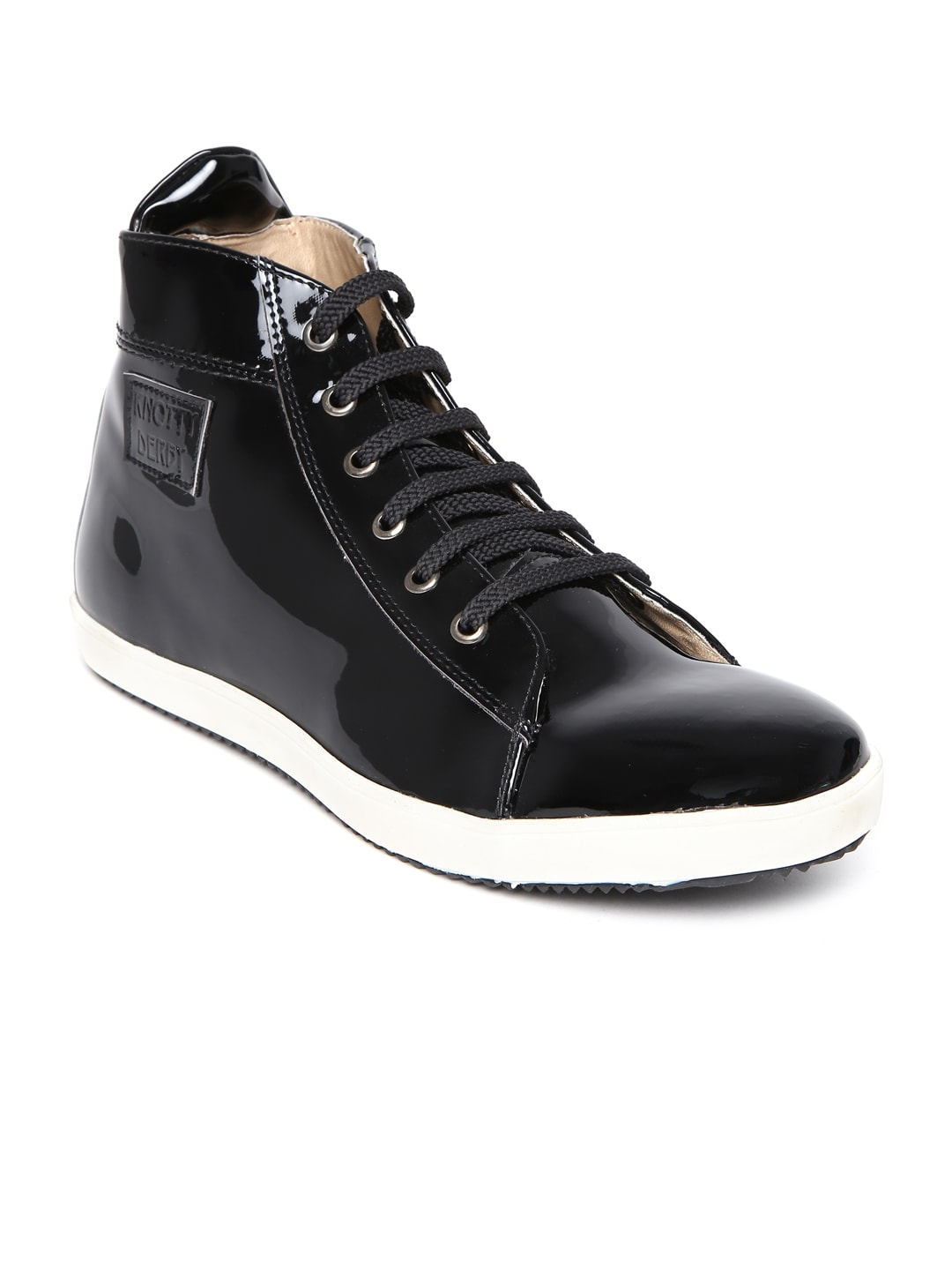 Arden by Knotty Derby Men Black Casual Shoes
