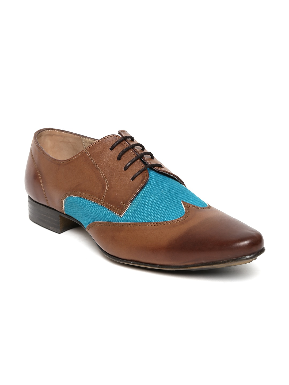 Knotty Derby Men Brown Derby Semiformal Shoes