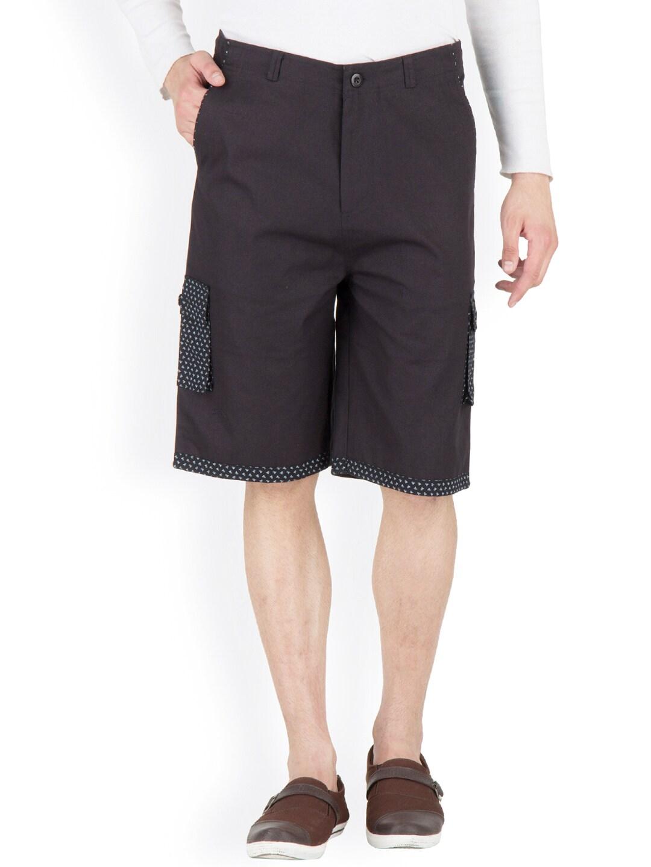 Hypernation Black Shorts