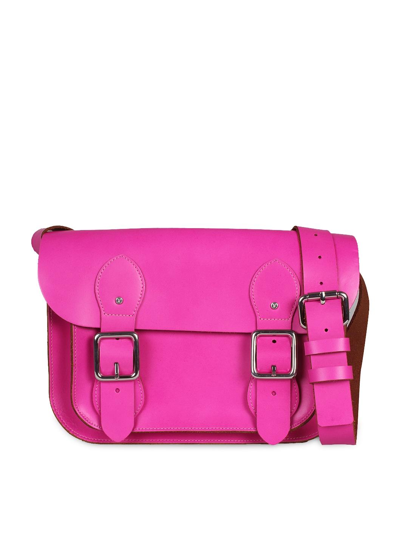 VIARI Pink Satchel