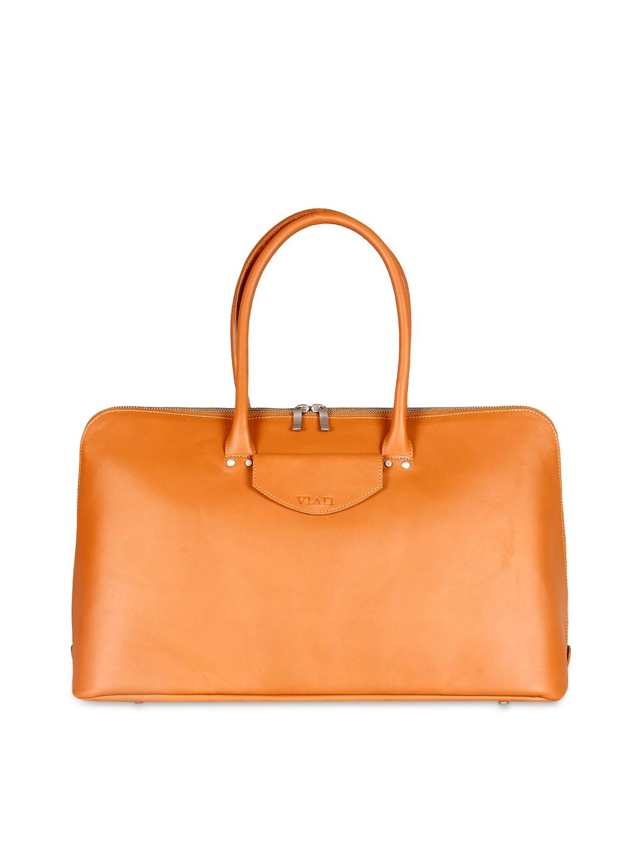 VIARI Tan Brown Handbag