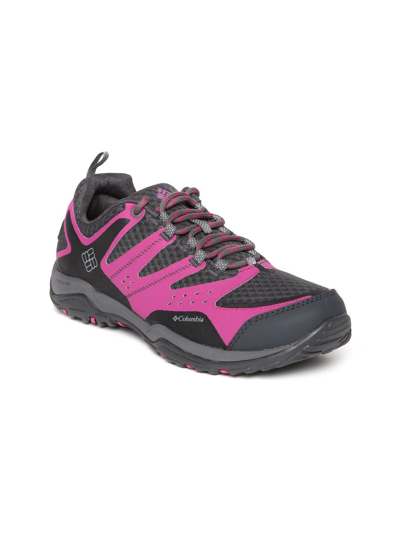 Columbia Women Charcoal Grey Peakfreak XCRSN XCEL Sports Shoes