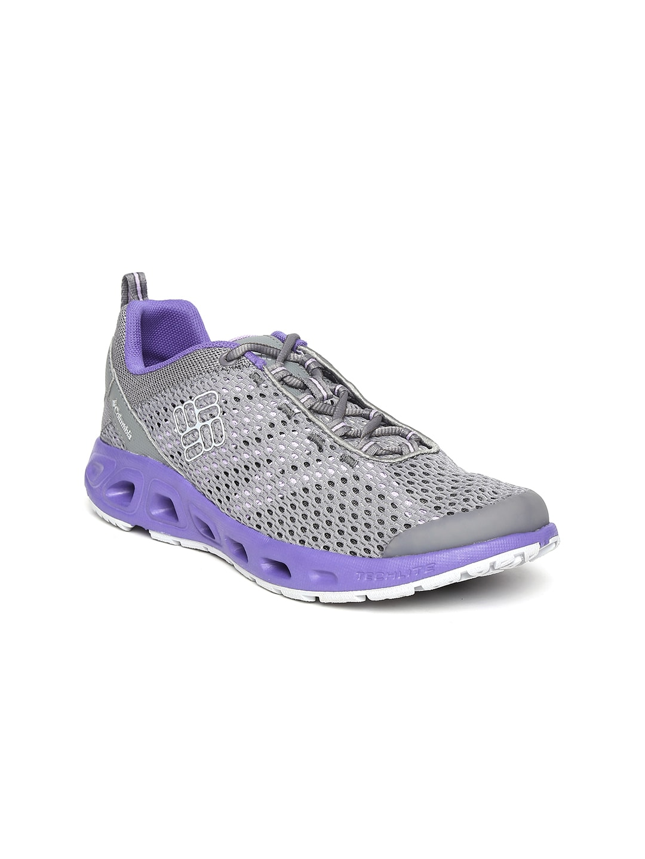 Columbia Women Grey Drainmaker III Sports Shoes