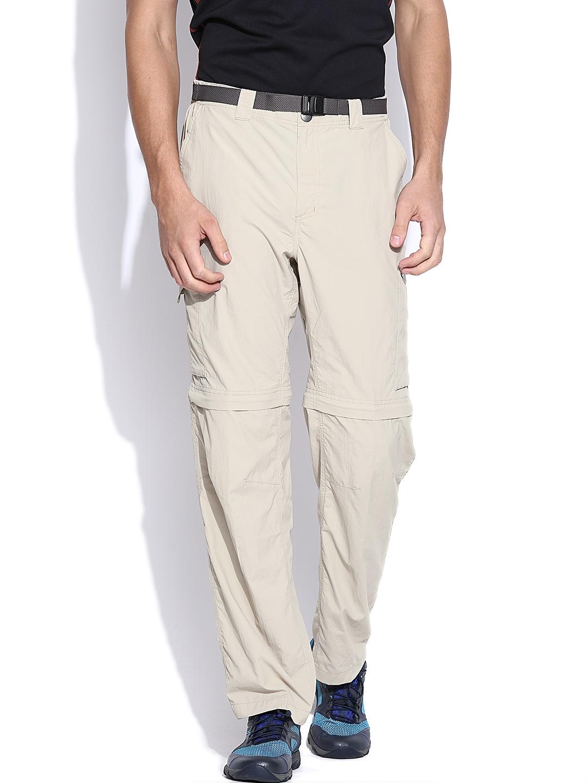 Columbia Beige Silver Ridge Convertible Shorts cum Track Pants