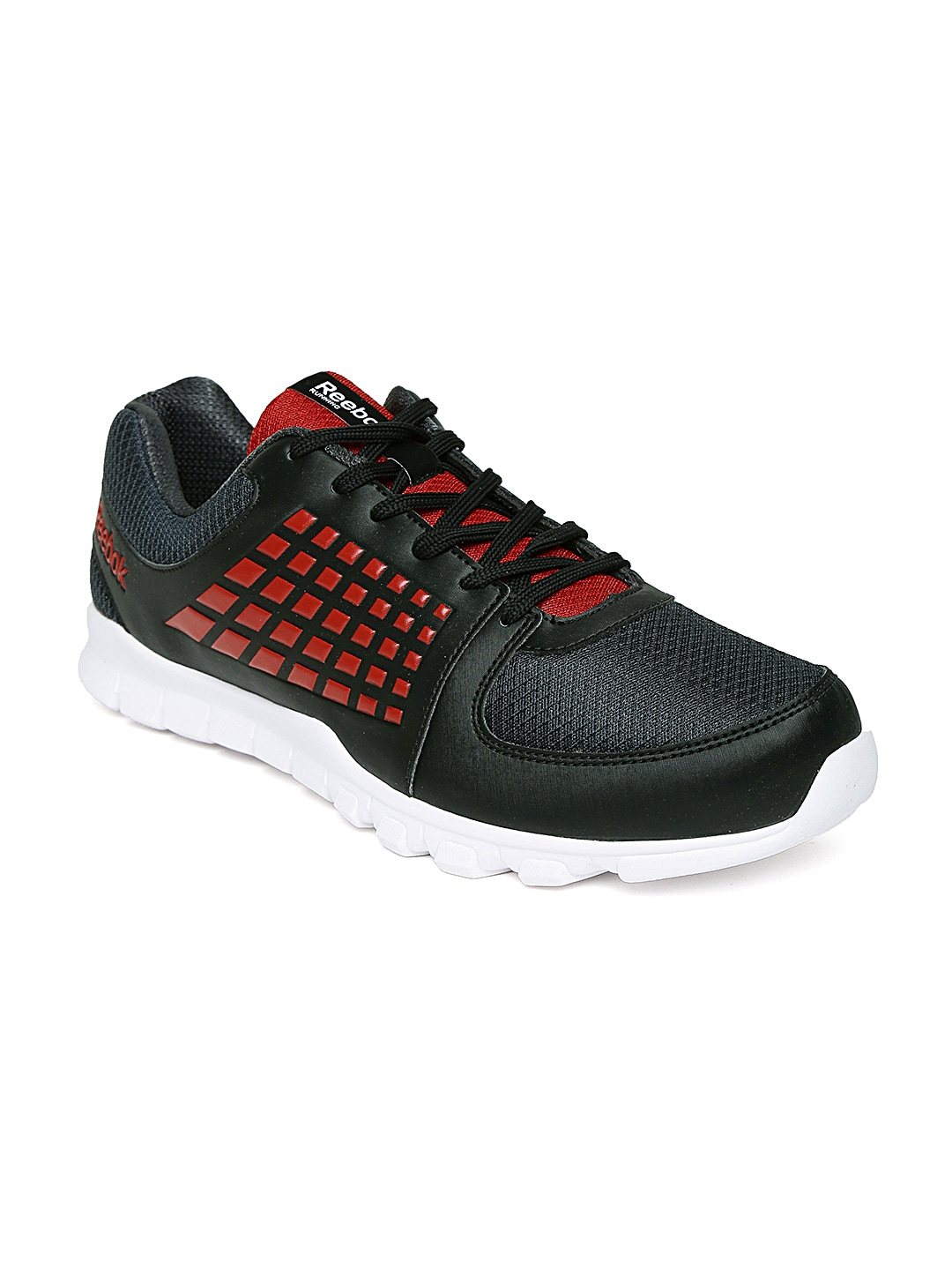 Reebok Men Black Electrify Speed Running Shoes