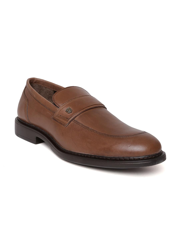Woods Men Brown Leather Semiformal Shoes