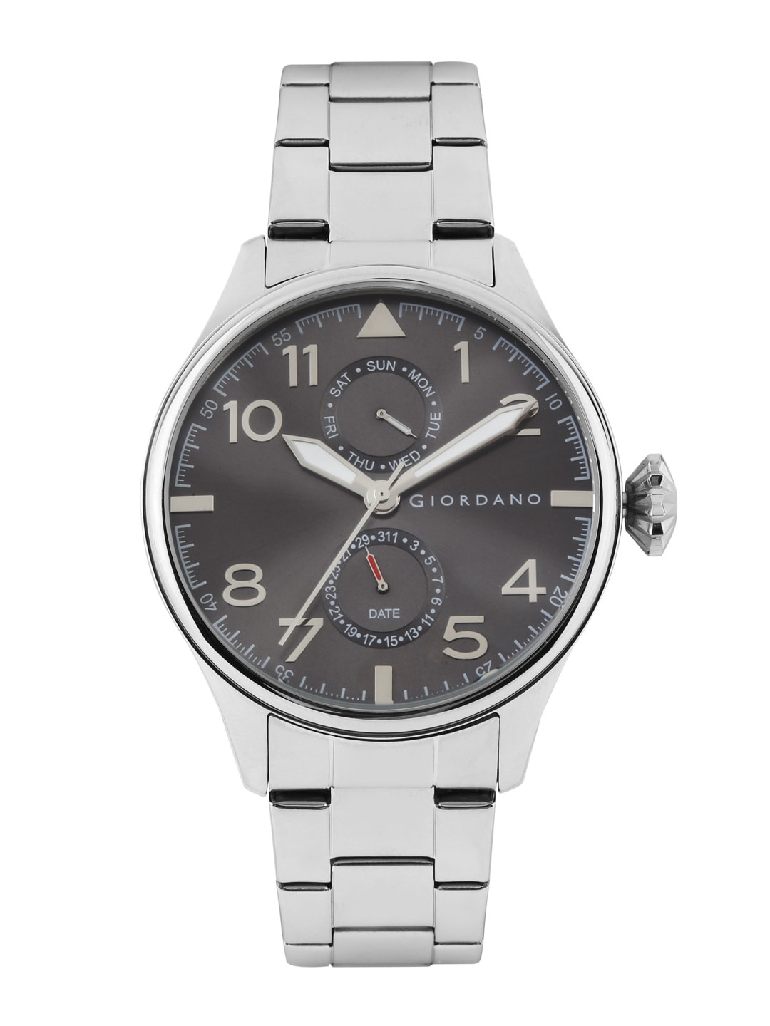 GIORDANO Men Grey Dial Watch 1719-22