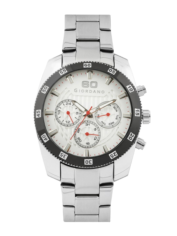 GIORDANO Men White Dial Watch 6101-11