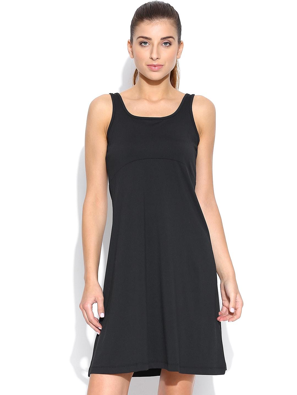 Columbia Black Freezer A-Line Dress