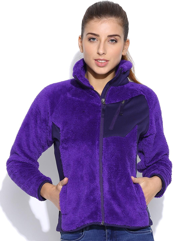 Columbia Purple Double Plush Sporty Jacket
