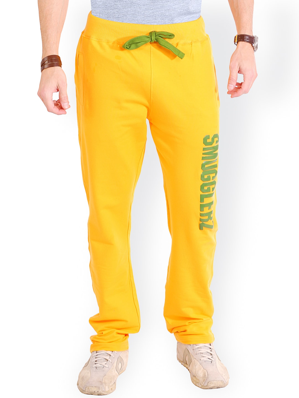 SMUGGLERZ INC. Yellow Lounge Pants SMGZ024