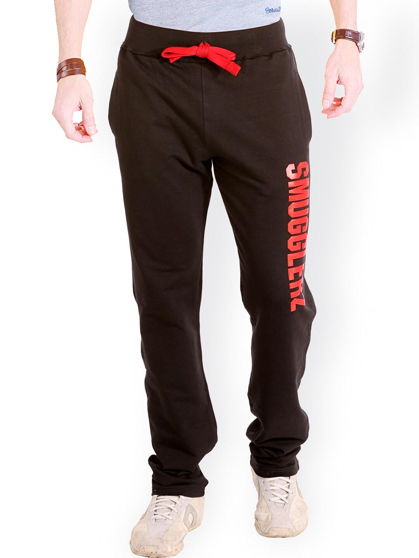 SMUGGLERZ INC. Black Lounge Pants SMGZ024
