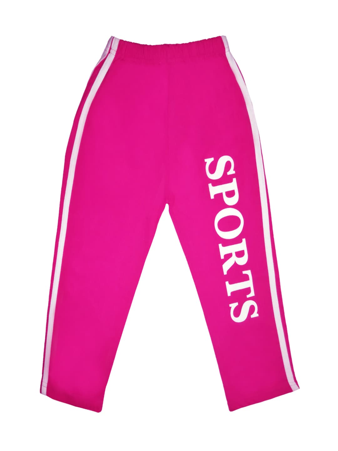 SWEET ANGEL Girls Pink Track Pants