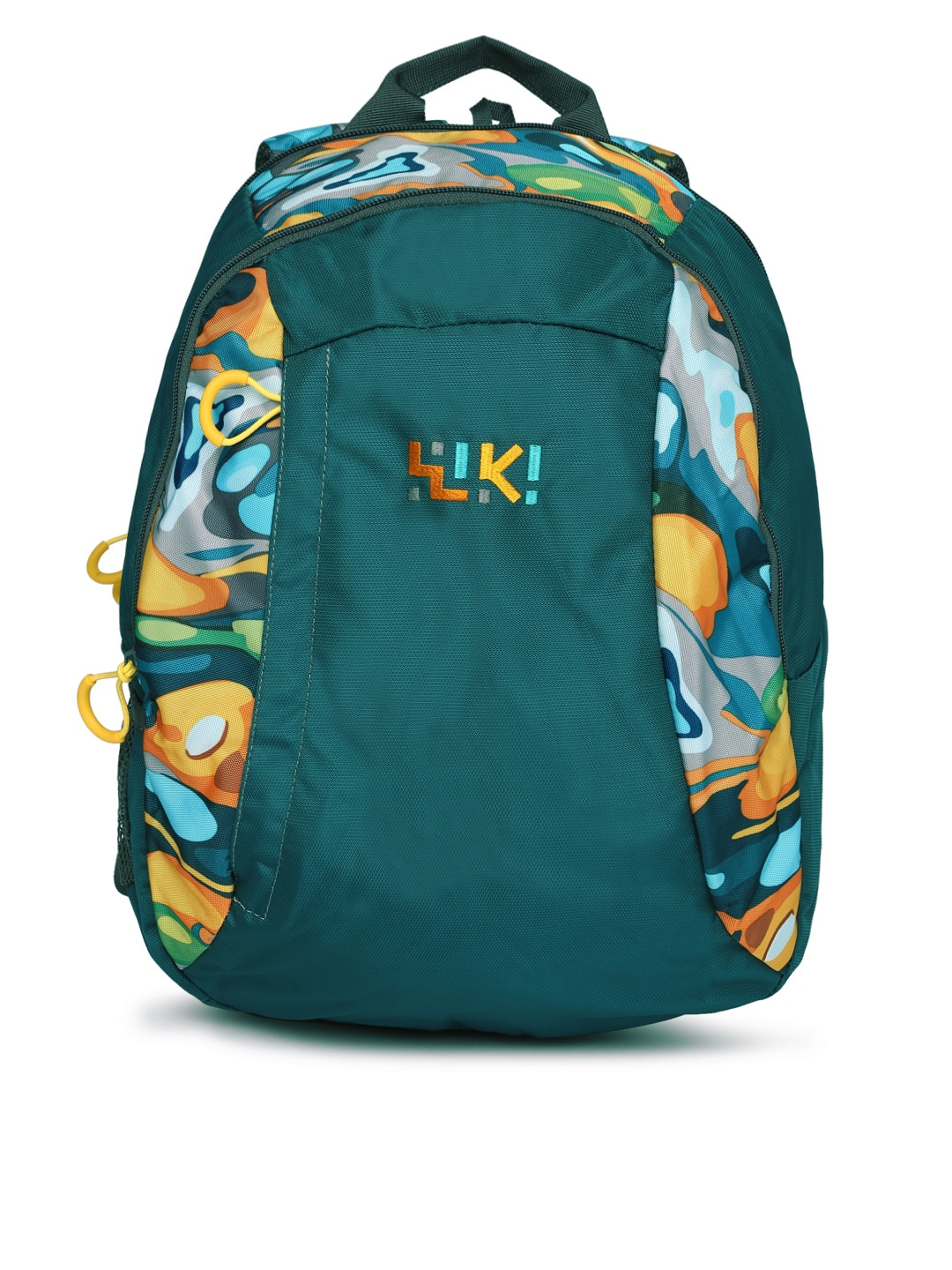 Wiki by Wildcraft Unisex Green Printed Backpack