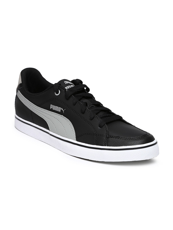 PUMA Men Black Court Point Vulc Casual Shoes