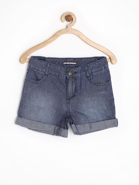 Tommy Hilfiger Girls Blue Shorts