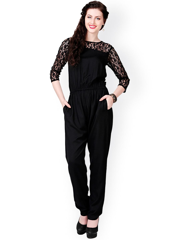 0ea395ac53bb Buy Eavan Flared Jumpsuit - Myntra